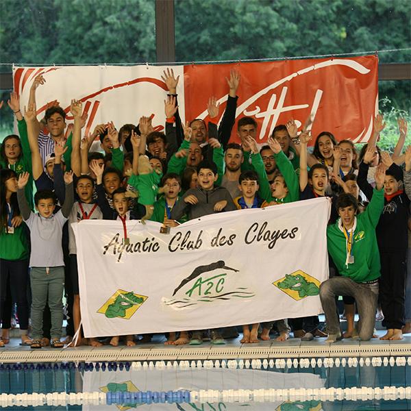 75 médailles pour les nageurs clétiens