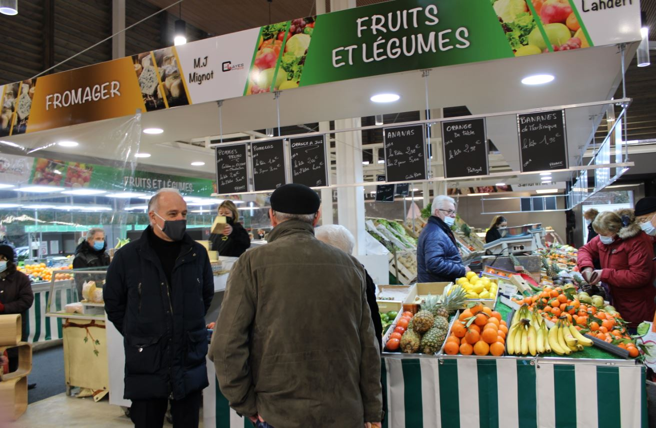 Nouvelle halle du marché communal
