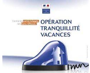 Opération Tranquilité Vacances