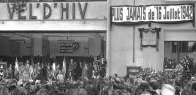 Commemoration de la rafle du Vel D'Hiv