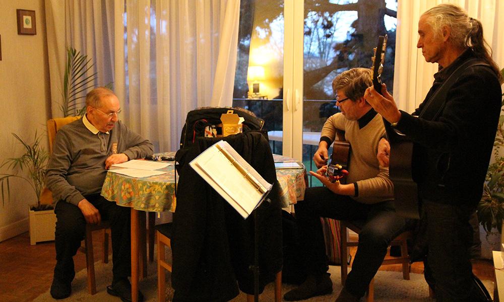 Concerts à domicile pour les seniors