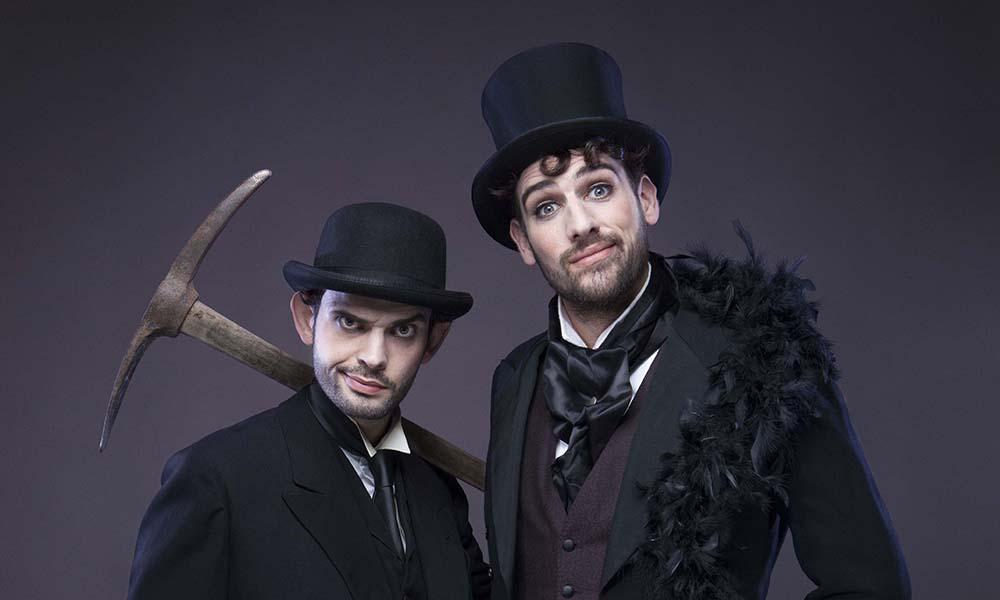Firmin et Hector, croque-morts chanteurs