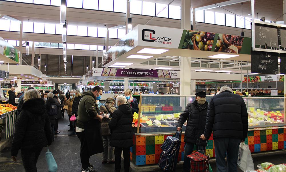 Halle du marché