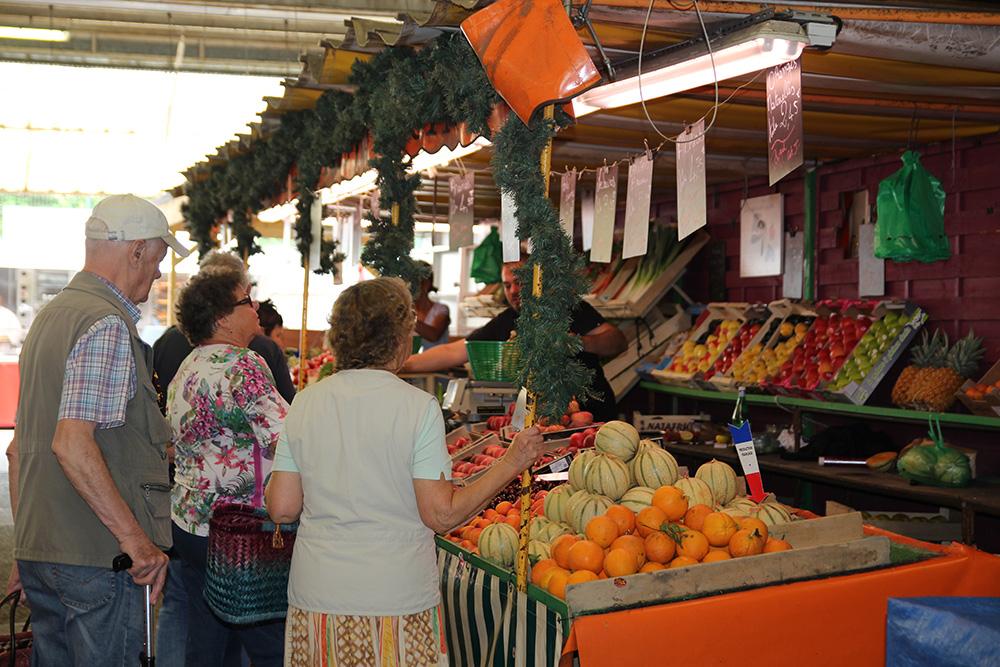 Le marché communal