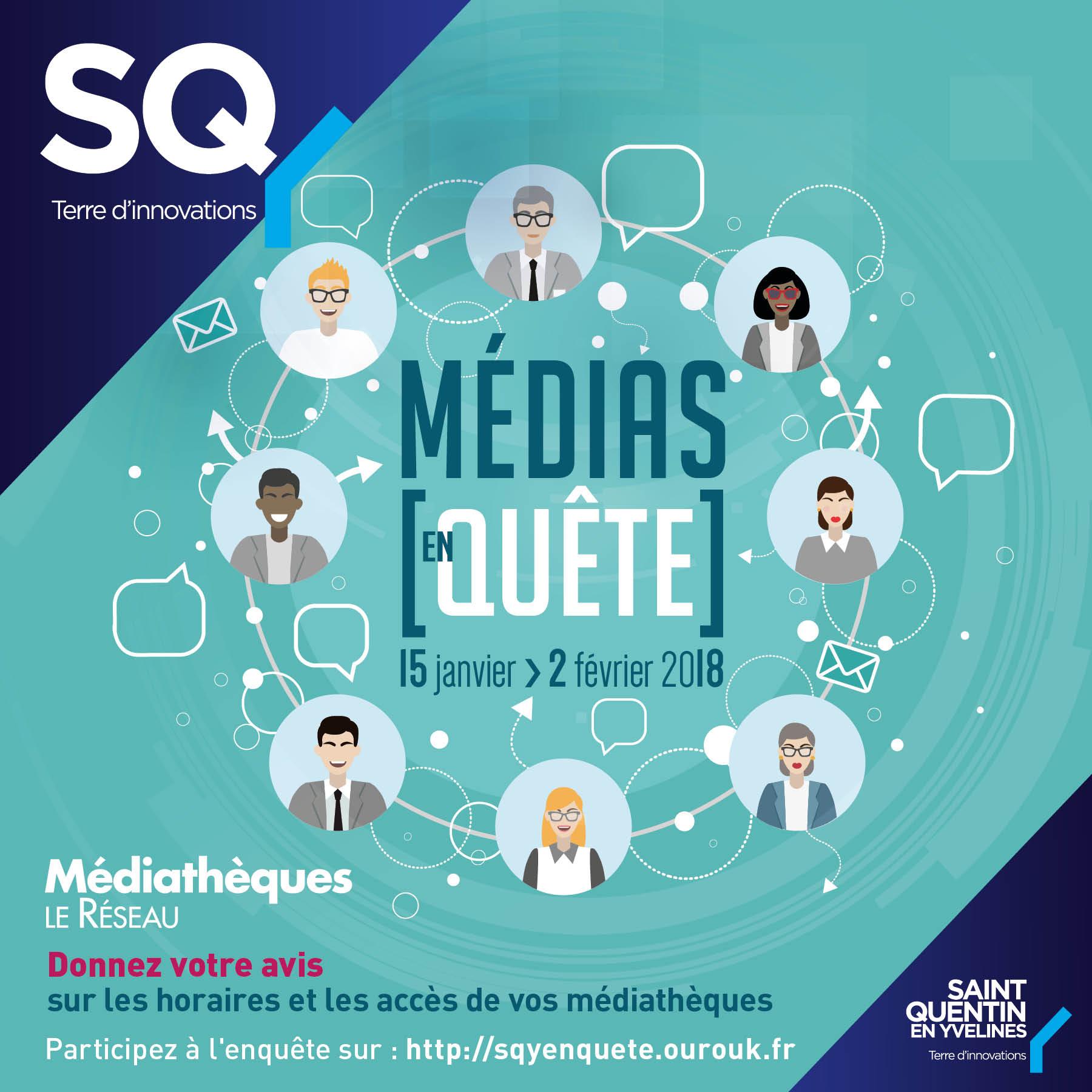 Enquête : les médiathèques et vous