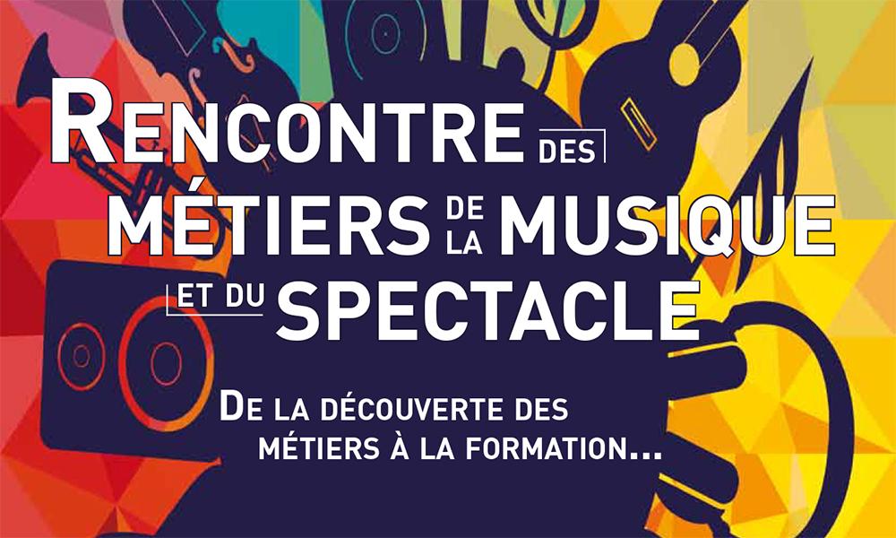 Rencontre des métiers de la musique et du spectacle