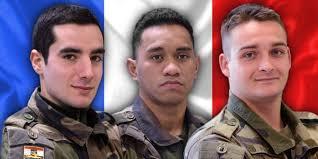 Hommage aux soldats tués