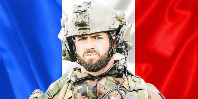 Hommage au Caporal-chef Maxime Blasco