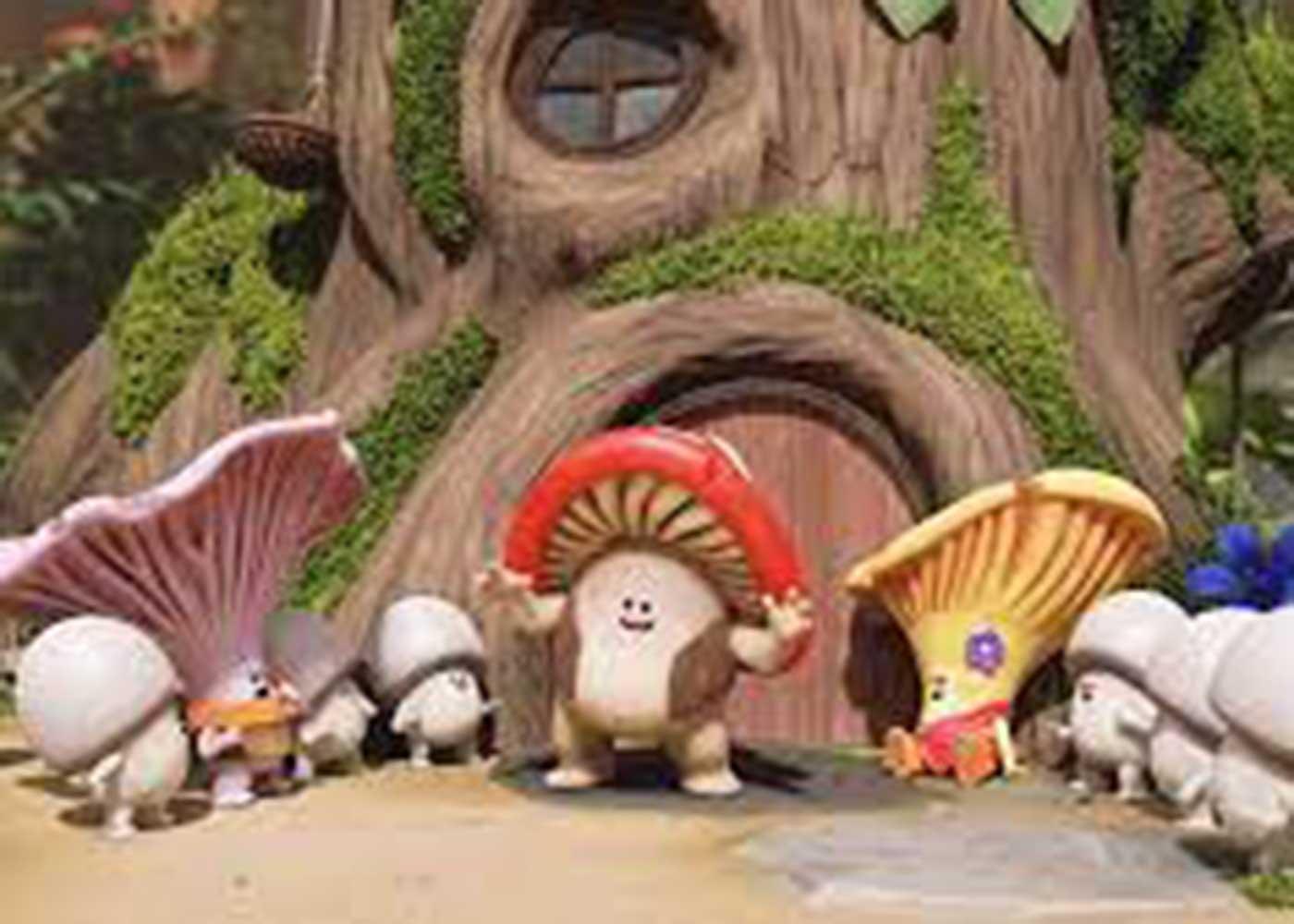 Mush-Mush et le petit monde de la forêt